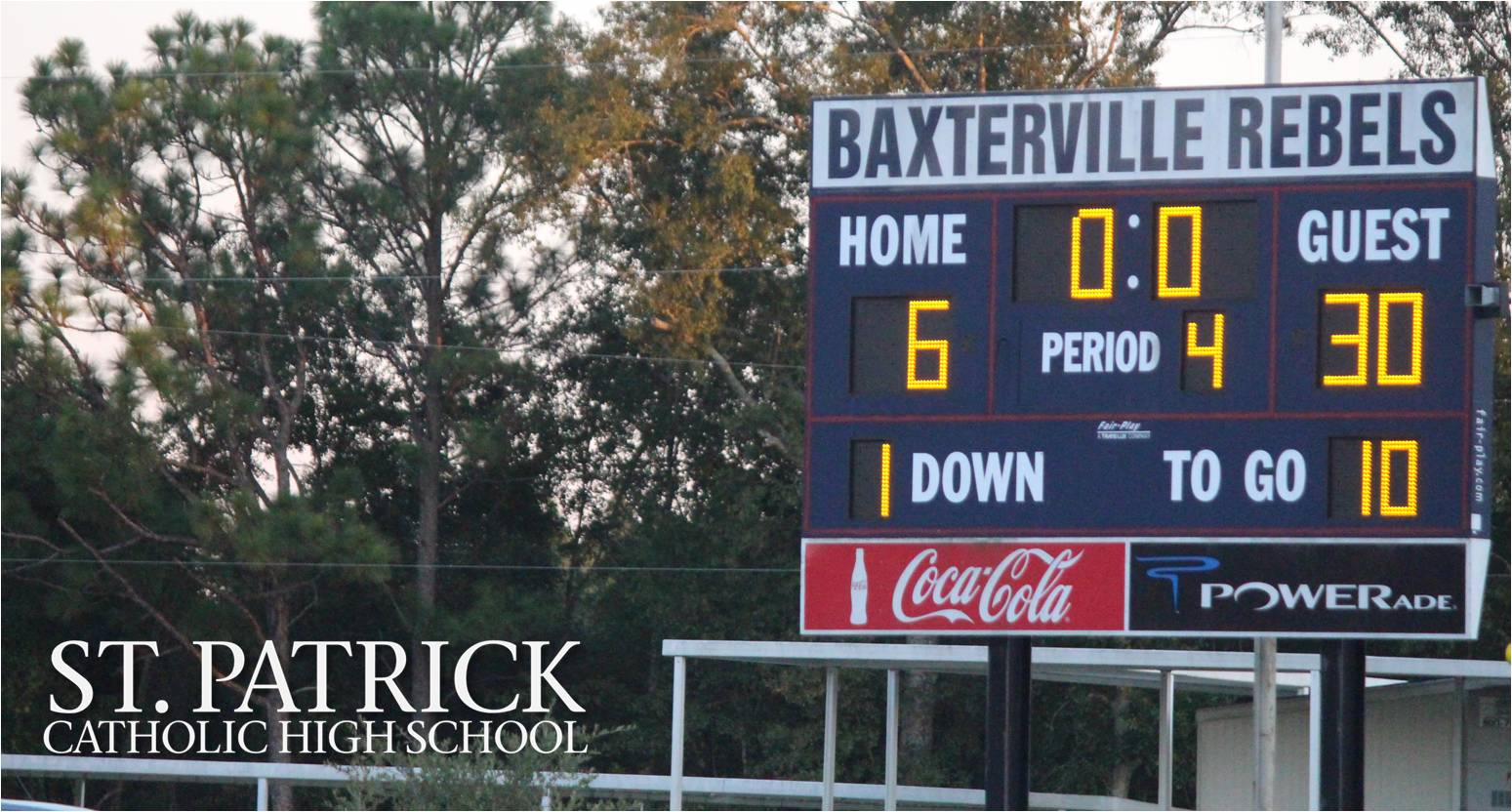 Junior High Football vs. Baxterville