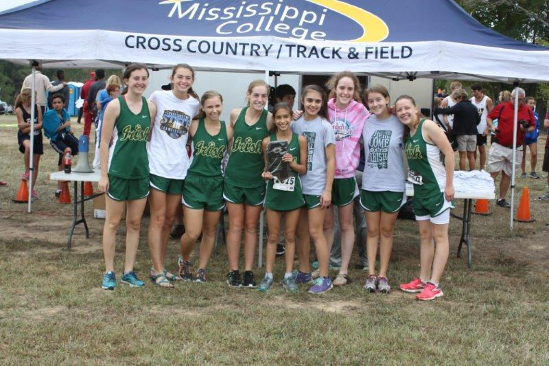 Cross Country Meet at Watson Invitational in Clinton, MS