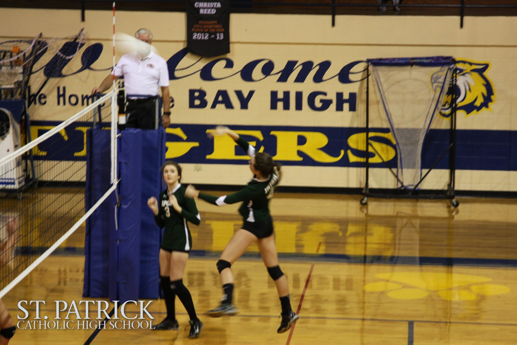 Volleyball vs. Bay High