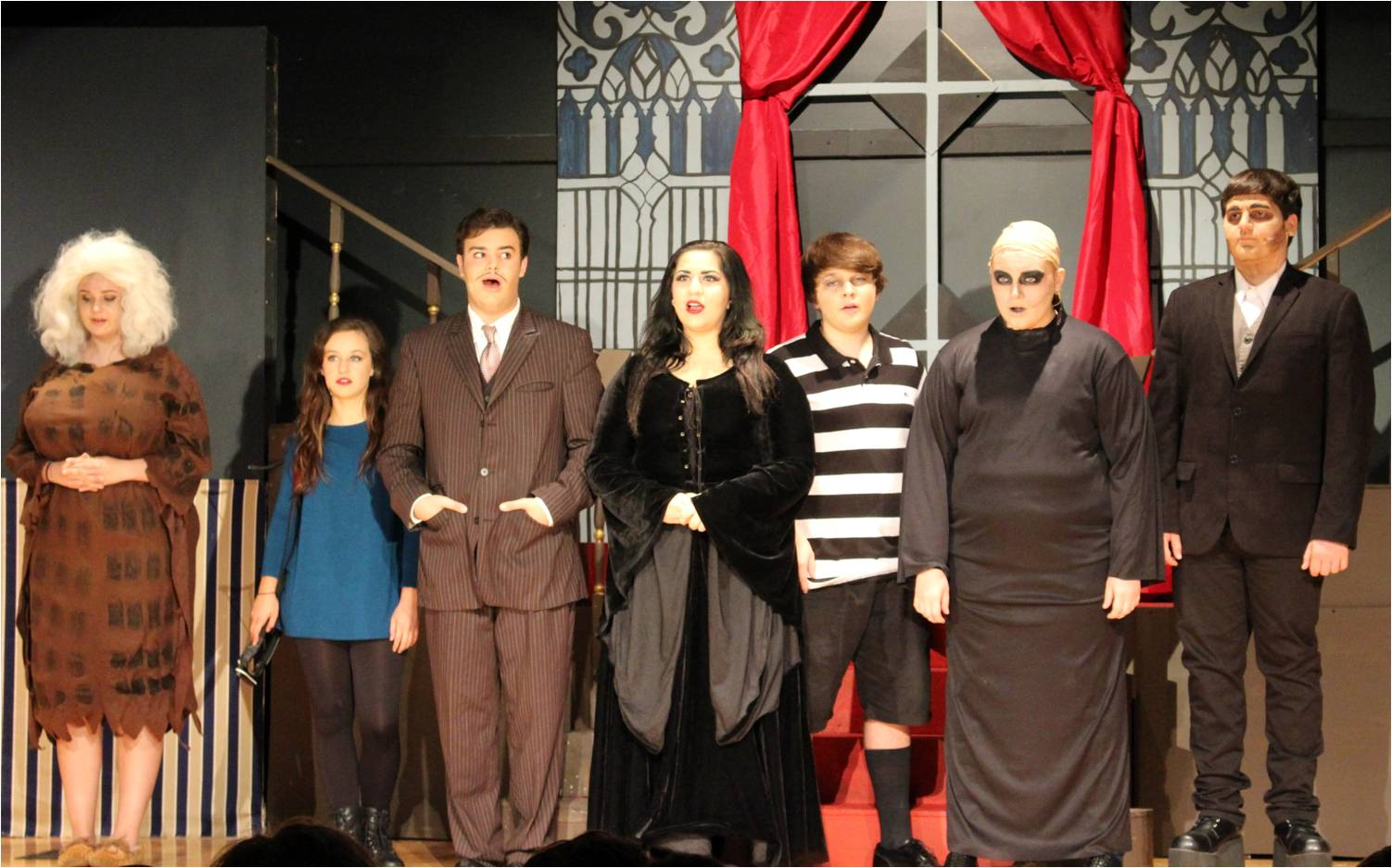The Addams Family Matinee Production