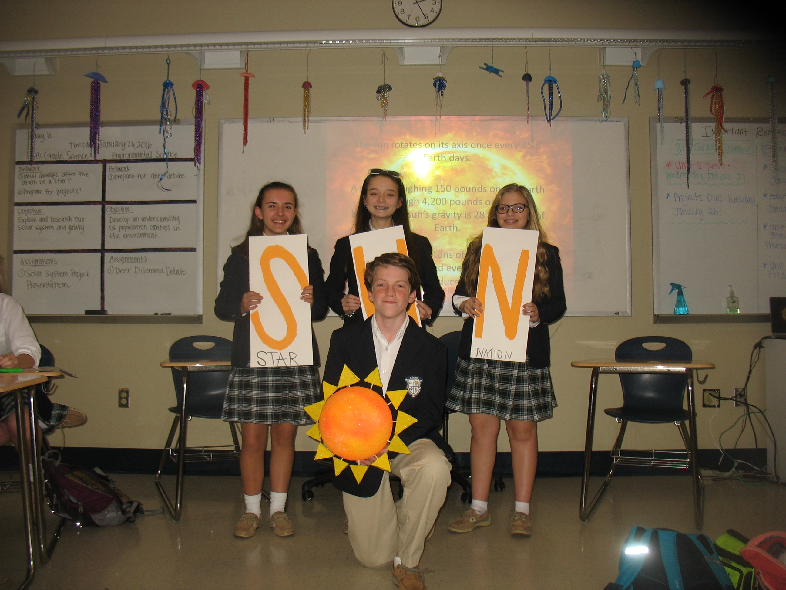 Eighth Grade Solar System Projects