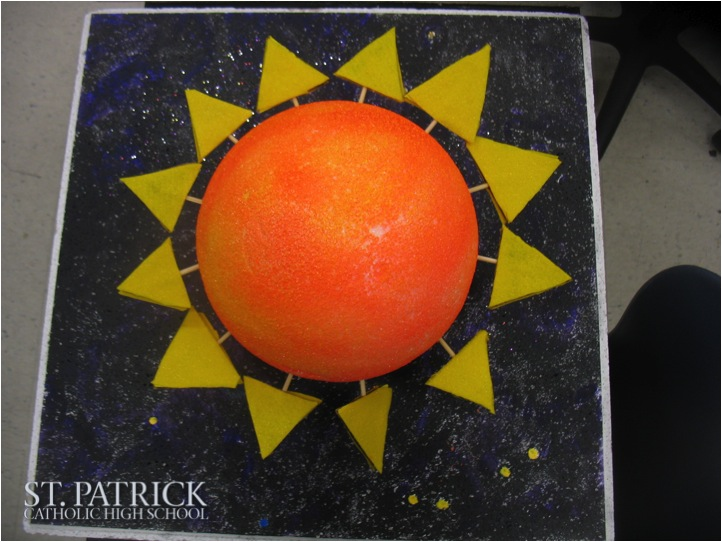 Eighth Grade Solar System Projects | St. Patrick Catholic ...