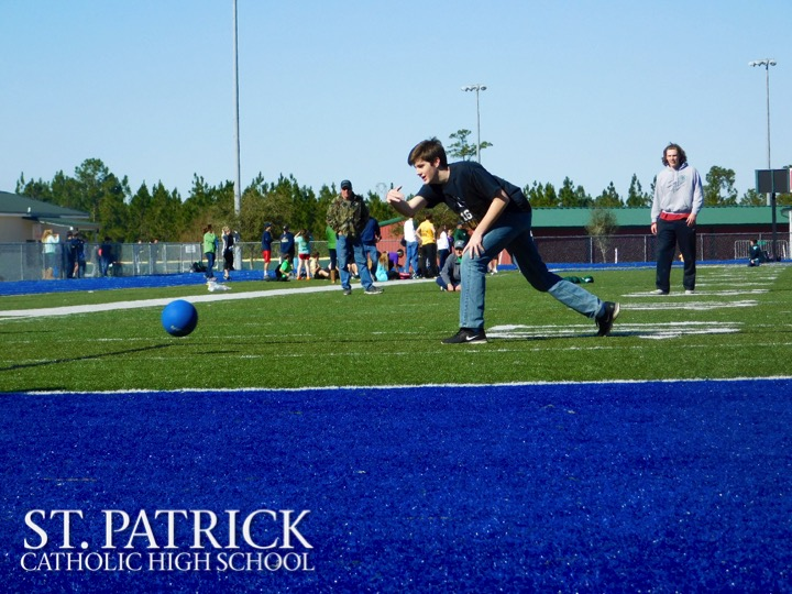 Catholic Schools Week Kickball Game