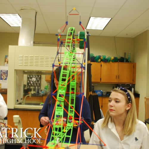 how to build a roller coaster for physics project