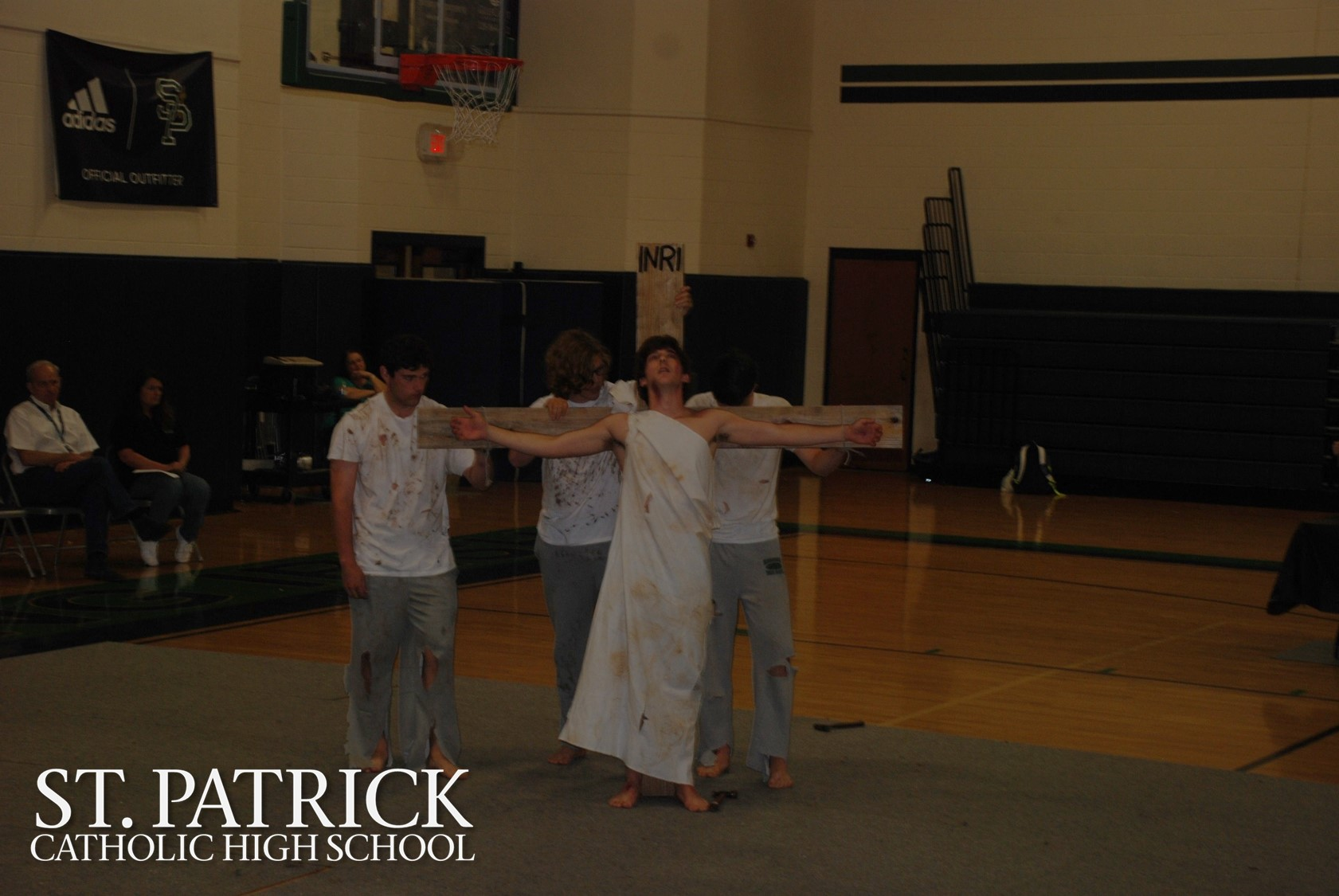 Campus Ministry performs Lenten skit