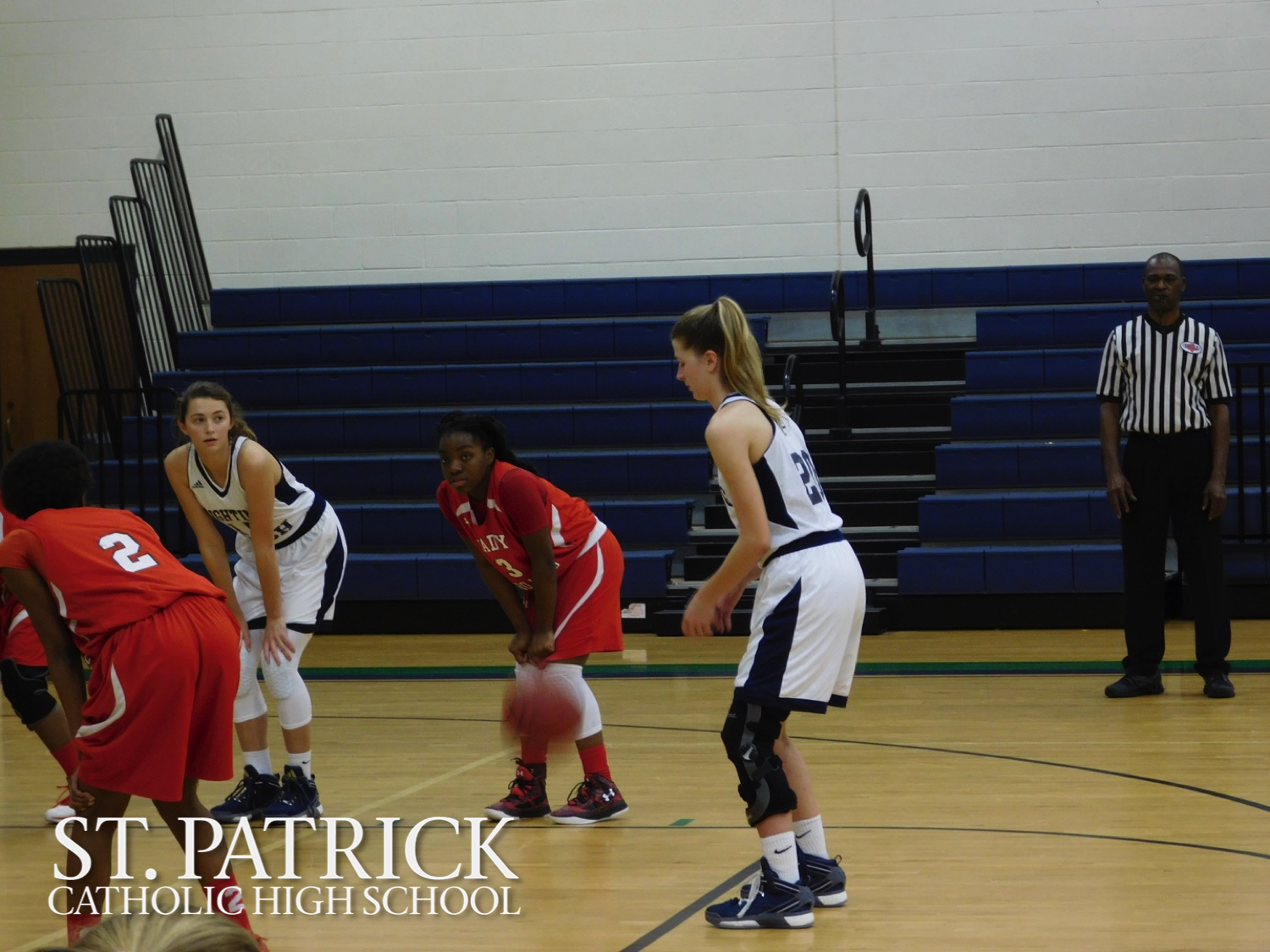 St. Patrick Varsity Basketball vs. West Marion