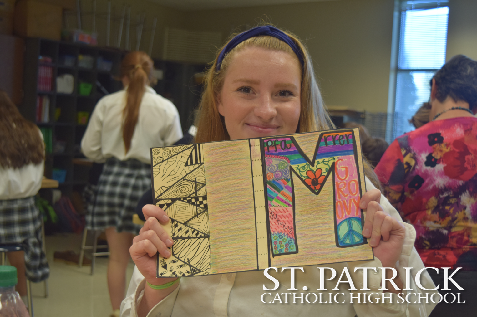 Art Students Create Journals