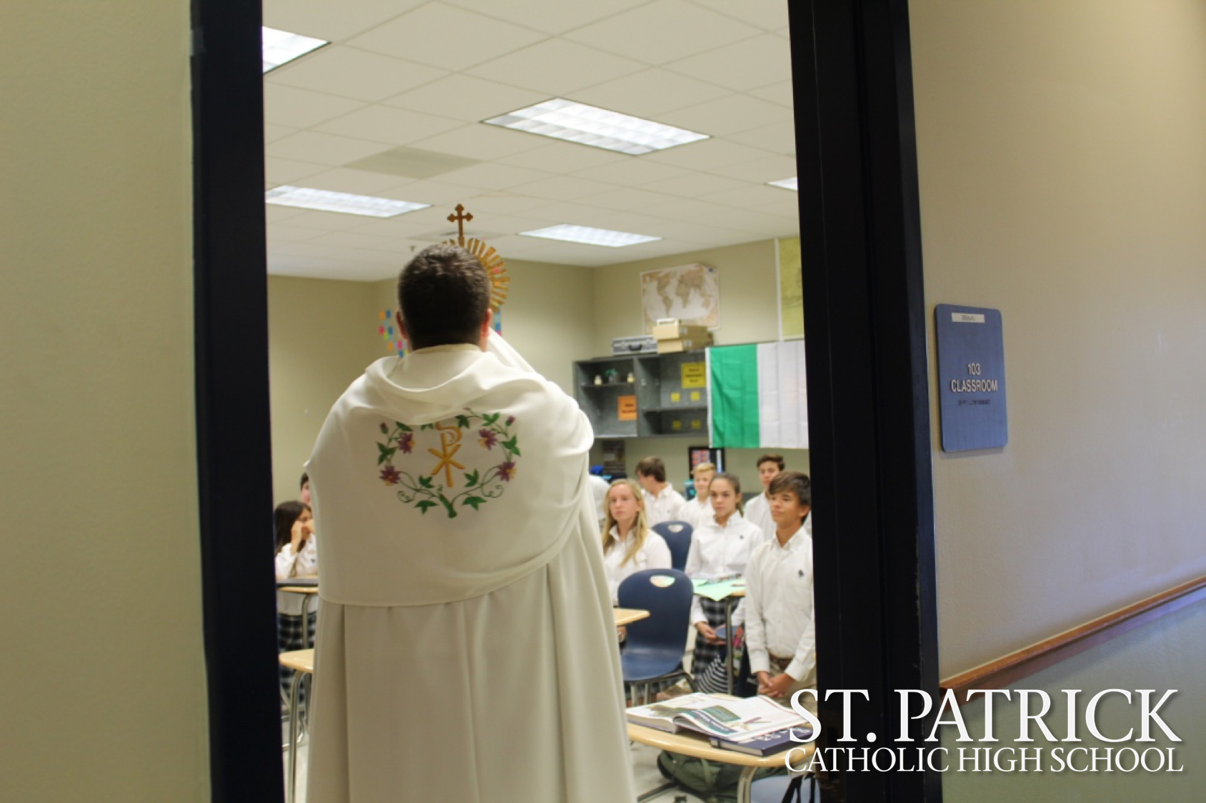 Blessing of the School and Adoration