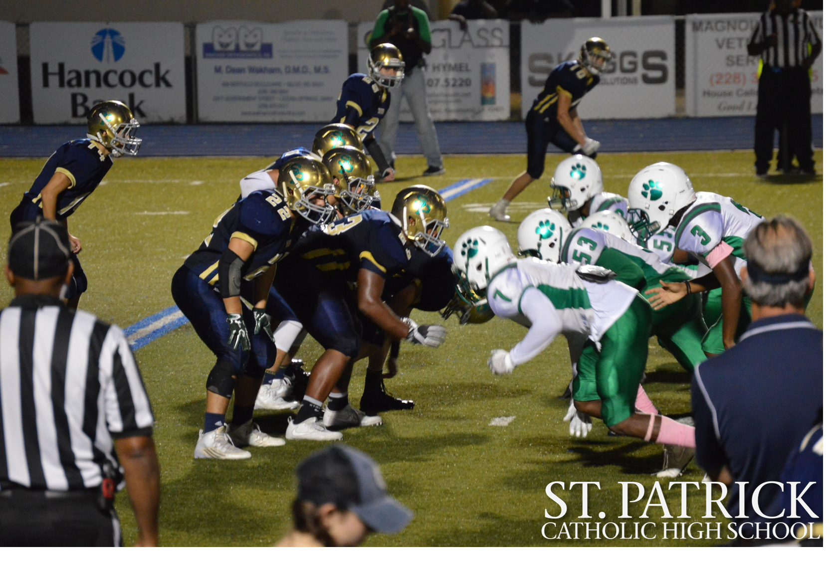 Fighting Irish Football vs. Collins and Senior Night