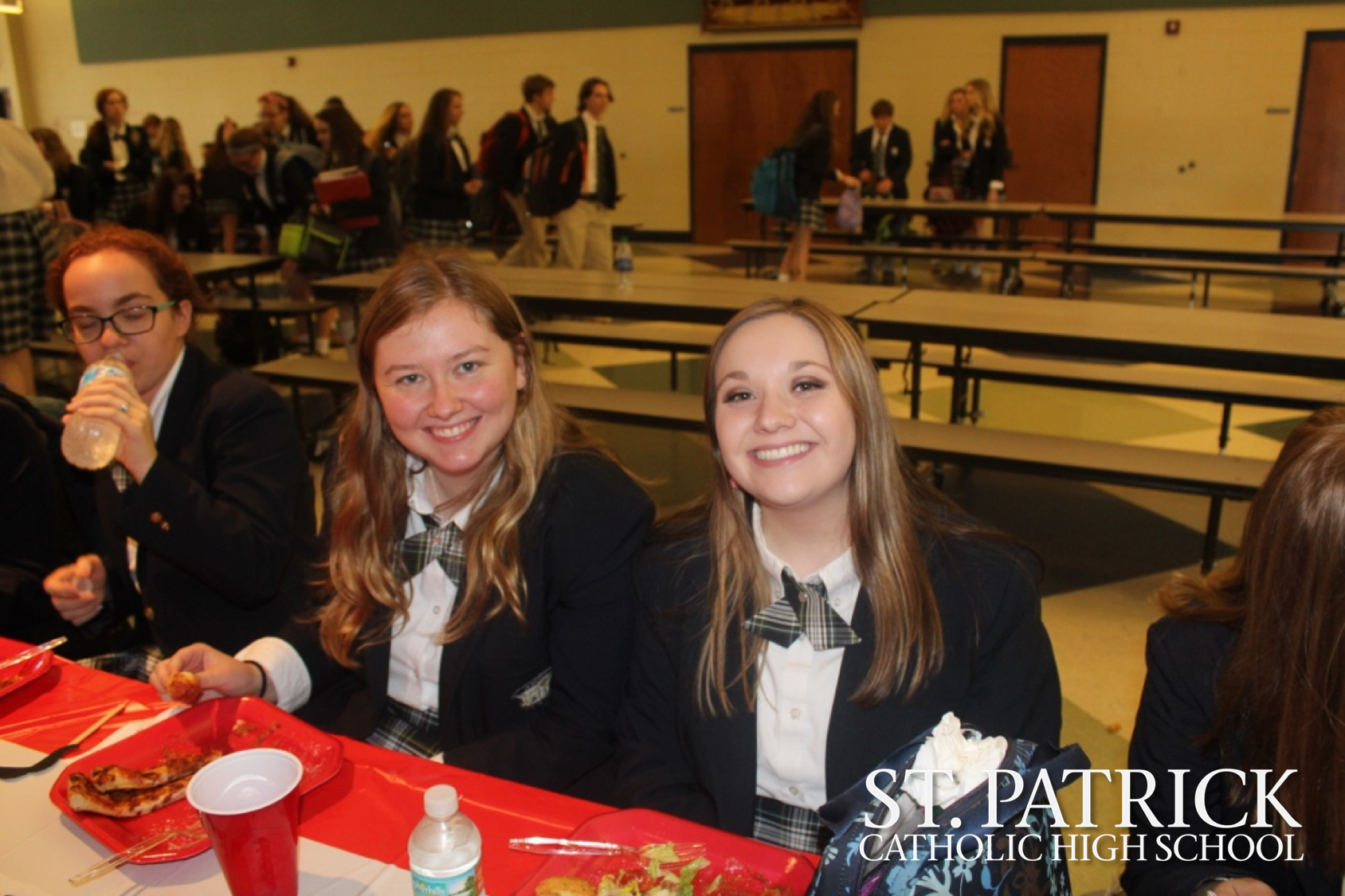 Senior class enjoys February luncheon