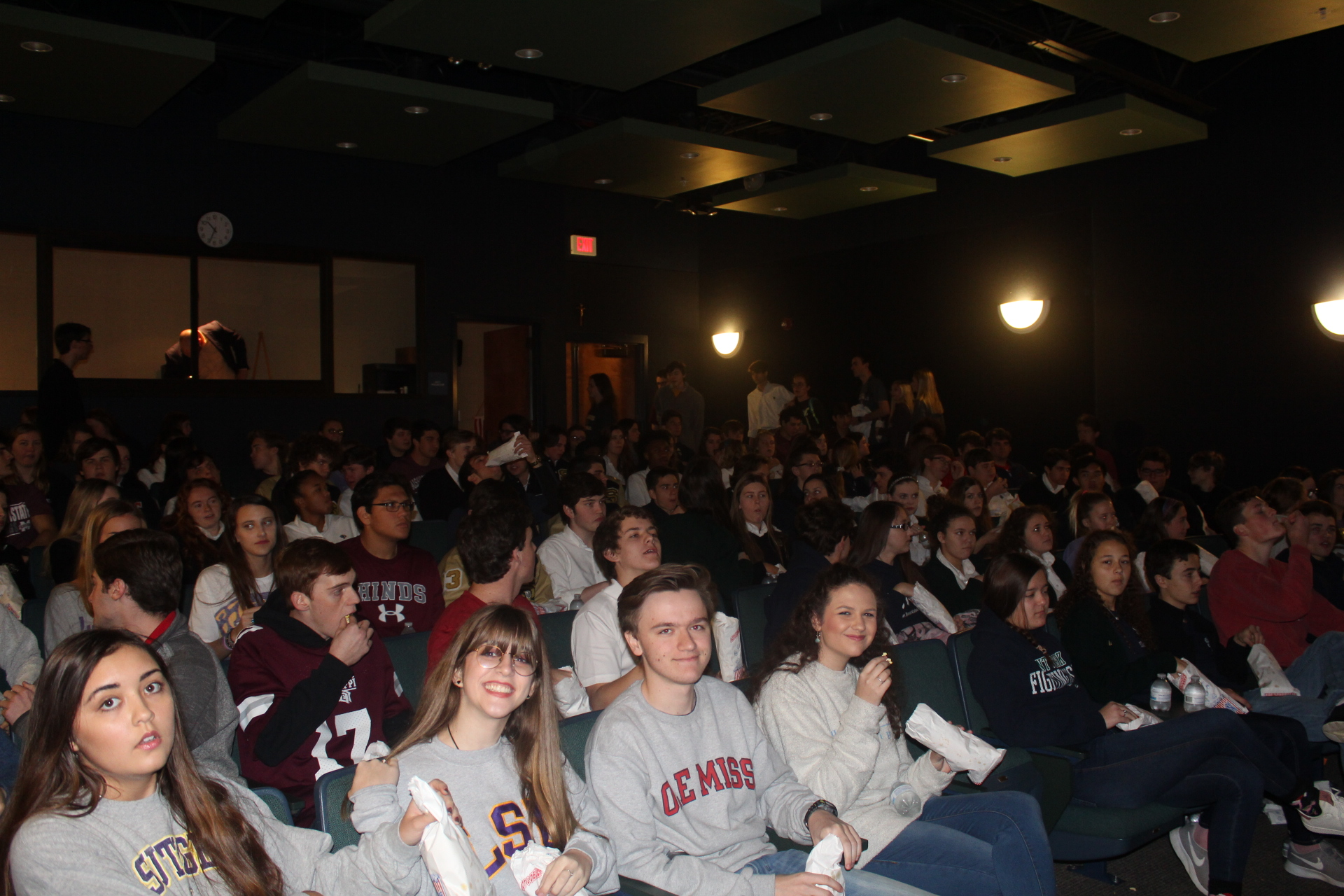 Students enjoy movie to celebrate Catholic Schools Week