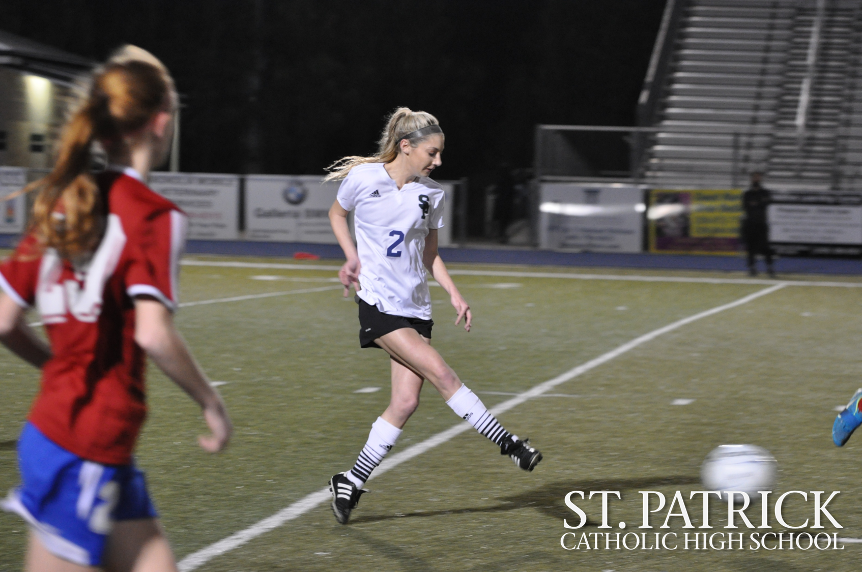 Varsity soccer plays against Pass Christian