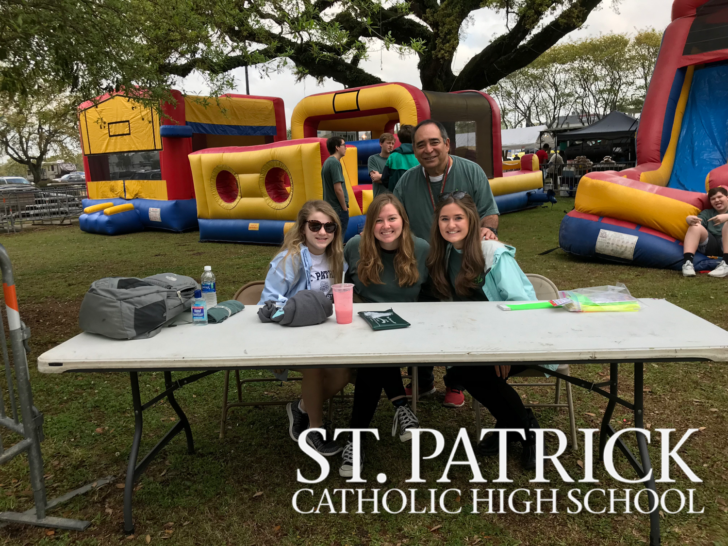 Spanish Honor Society works St. Patrick's Day Festival