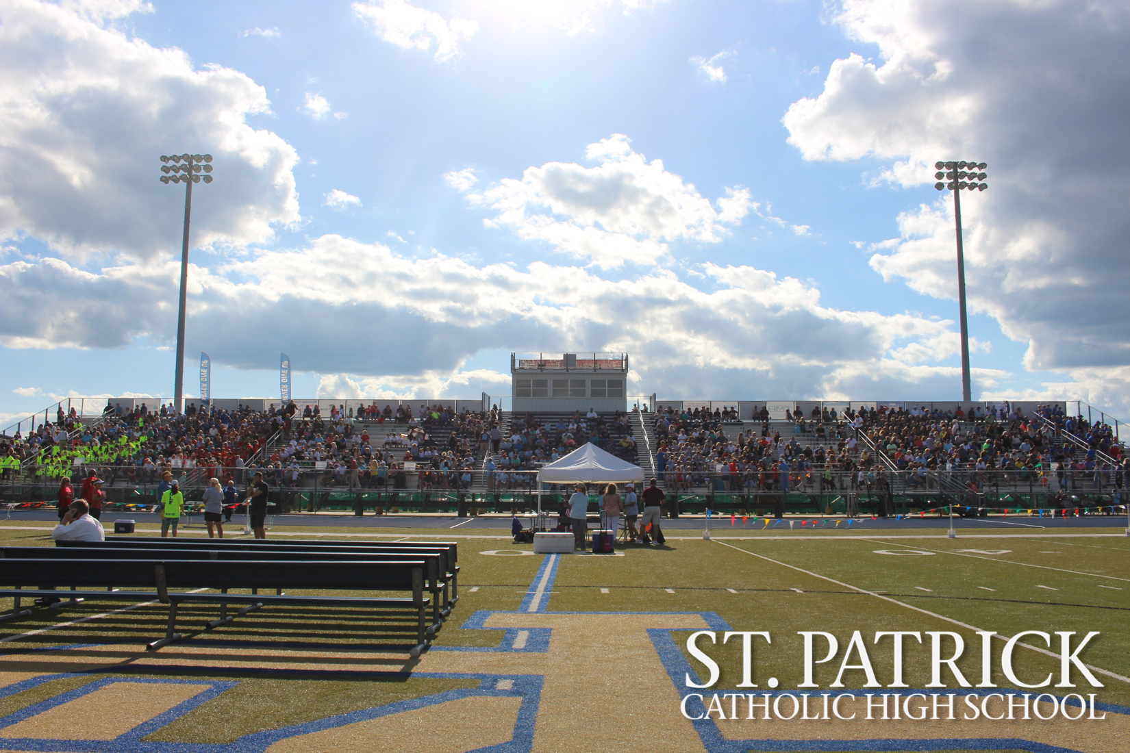 Annual Nativity track meet is held at St. Patrick