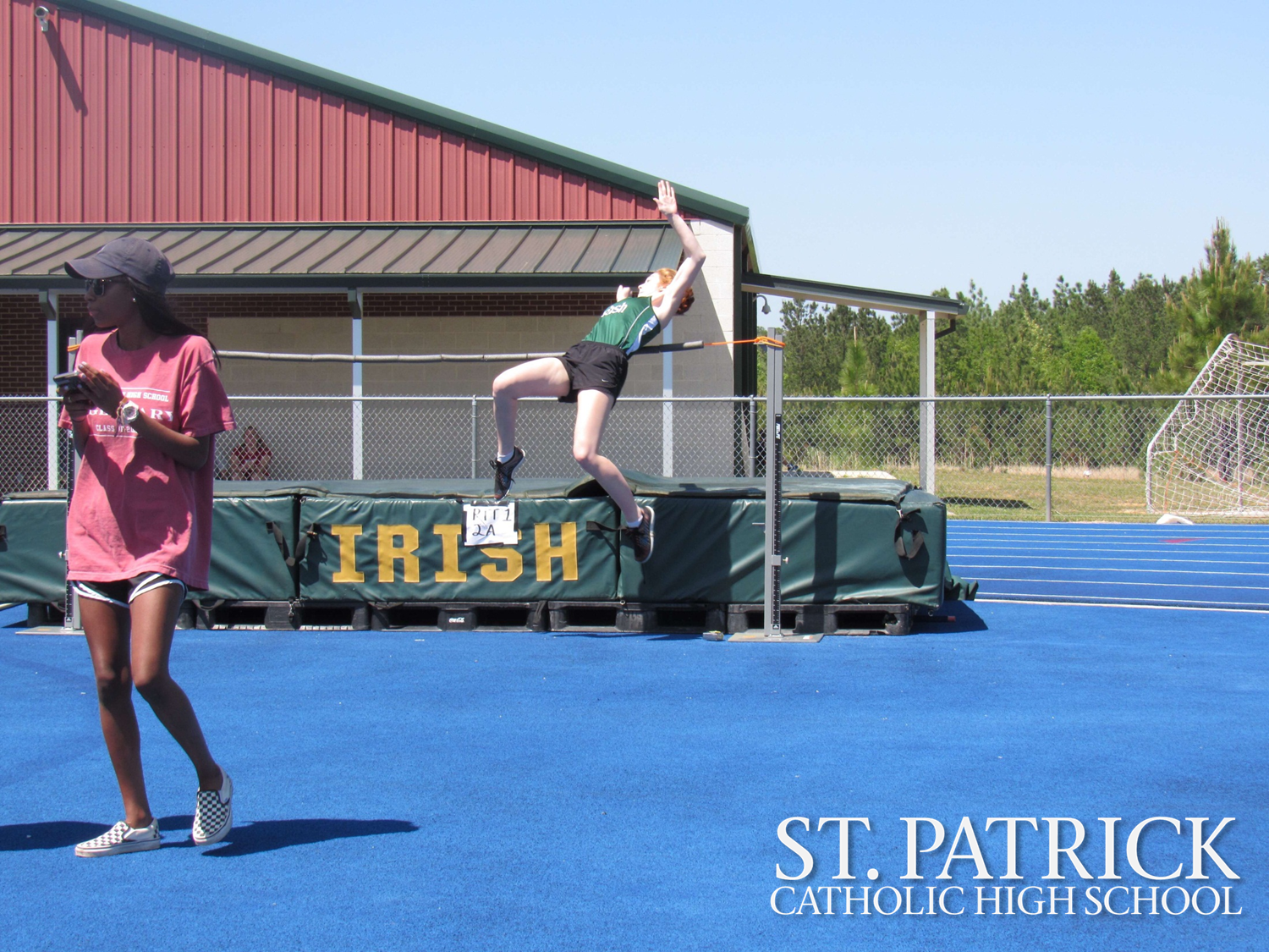 St. Patrick hosts district track meet