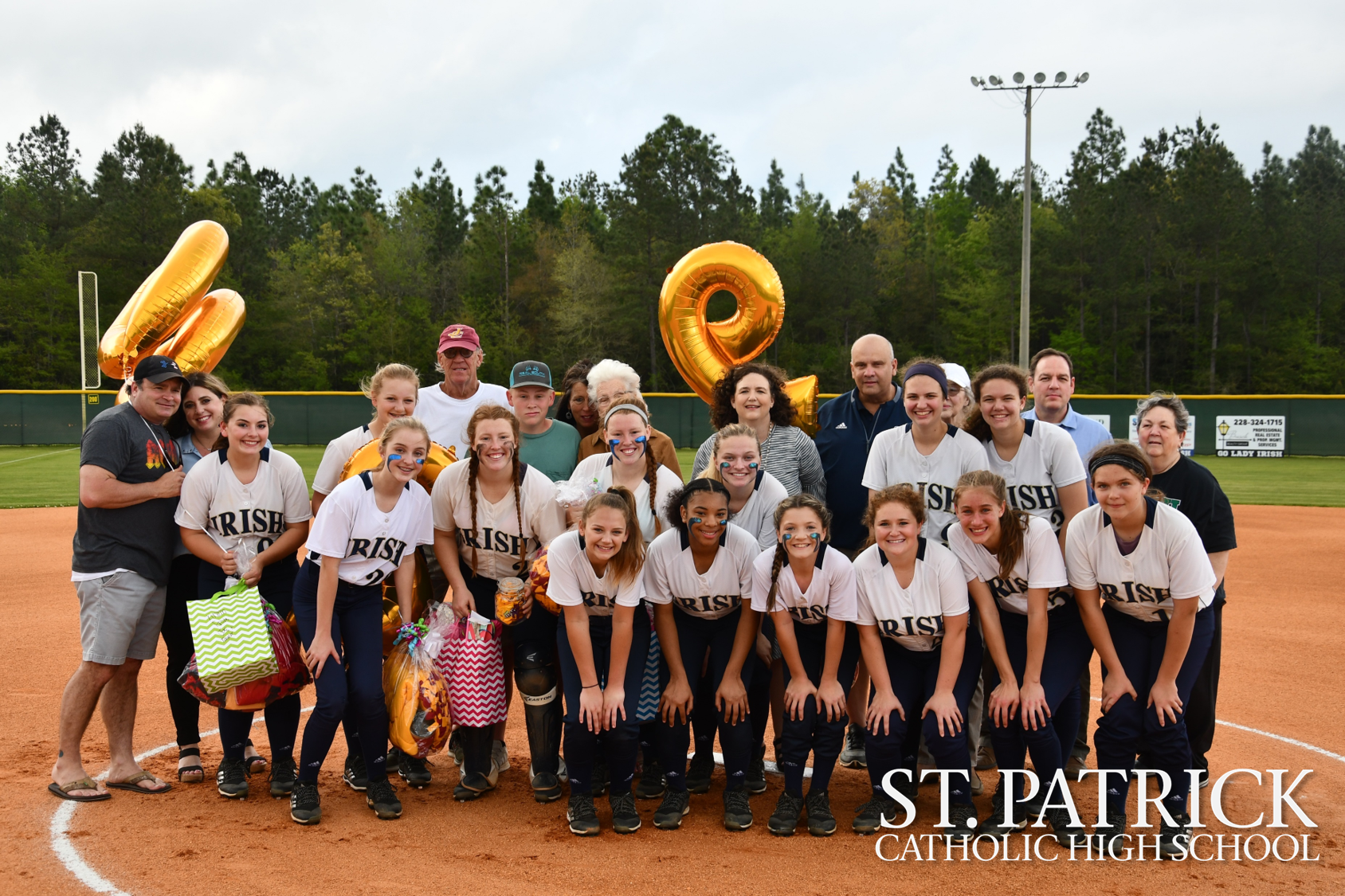 Softball senior night was a night to remember