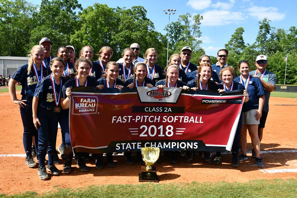 Lady Irish win MHSAA 2A Fast Pitch Softball State Championship