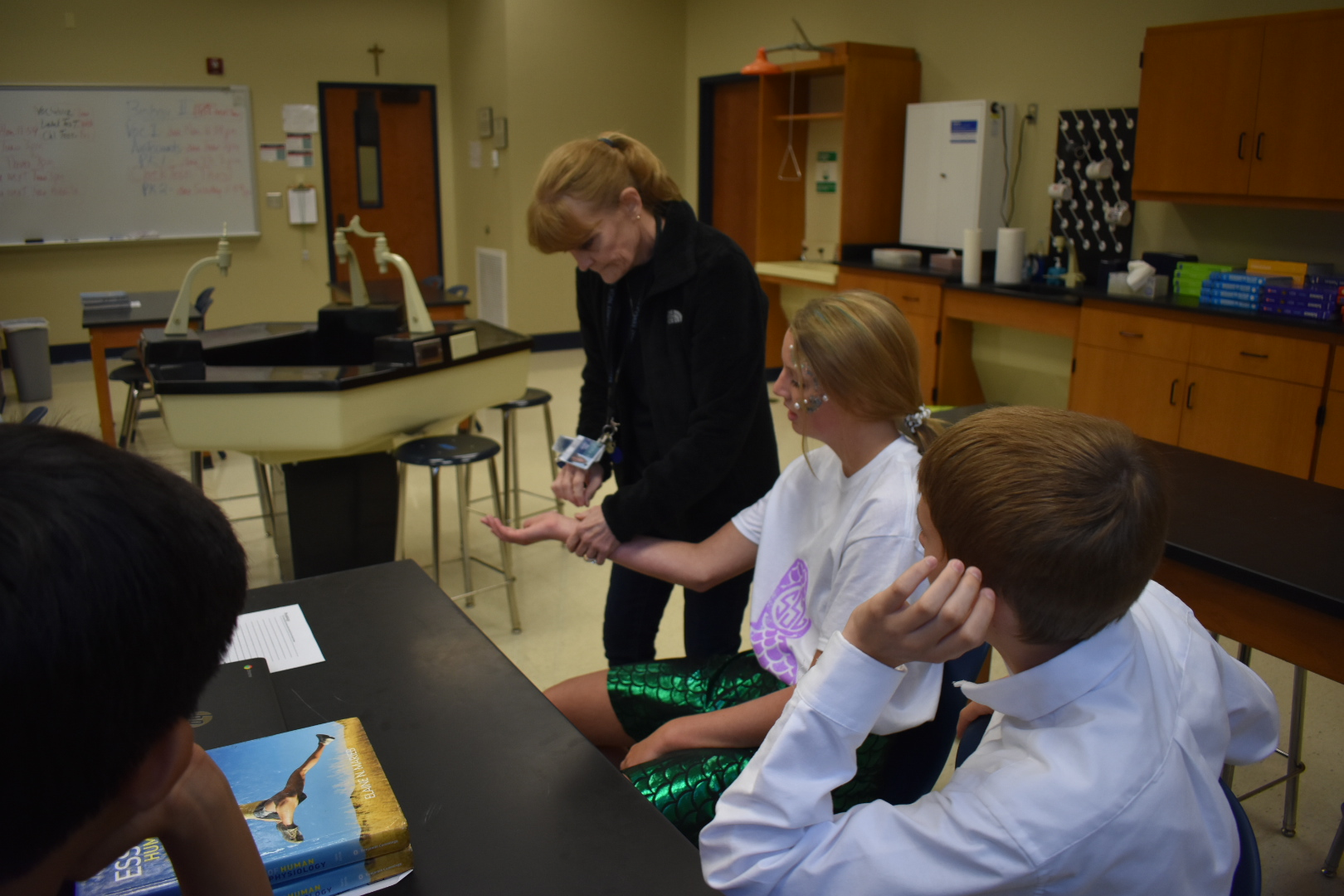 Mrs. Lawson's Human Anatomy and Physiology Exercise Lab