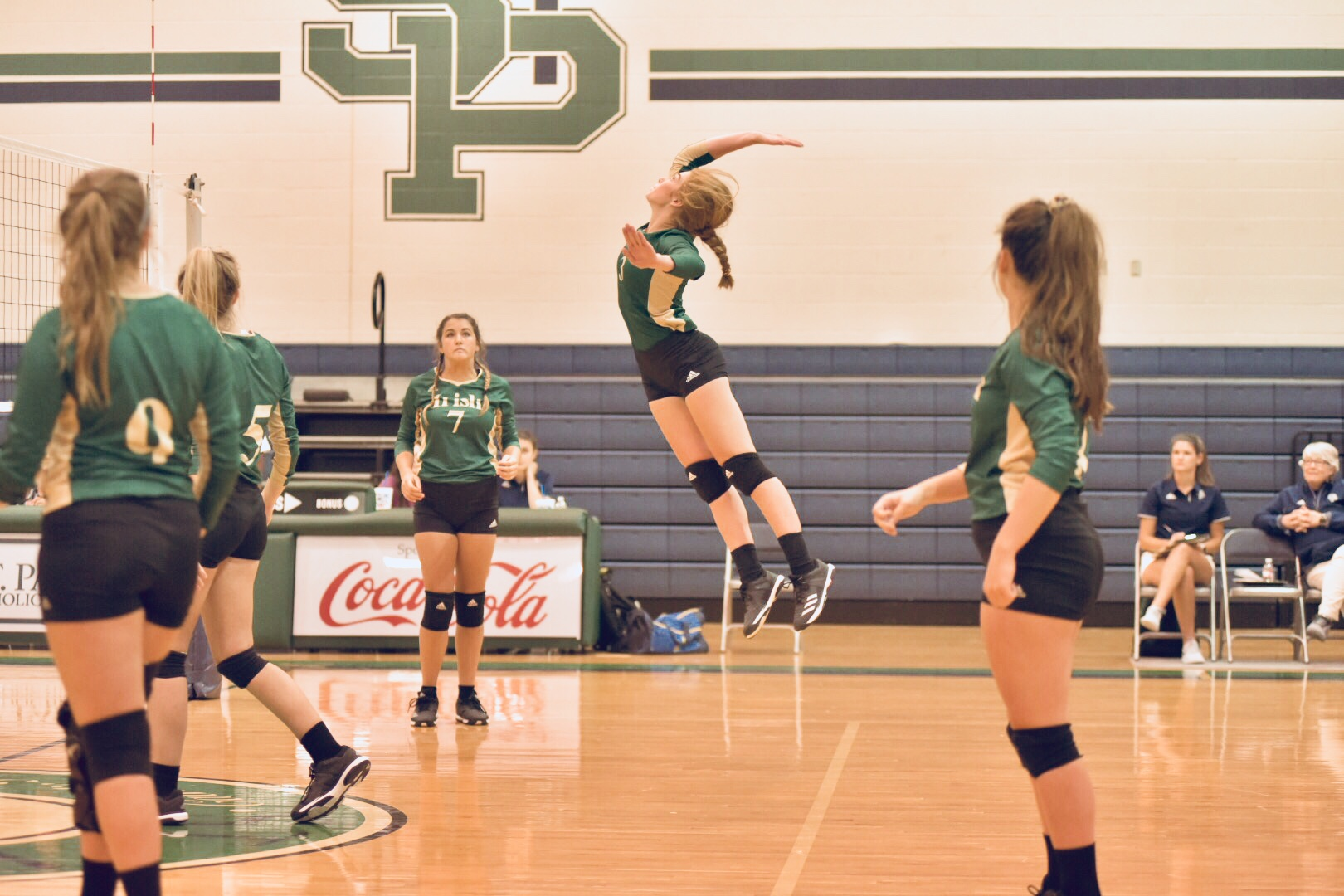 First home volleyball game: Lady Irish vs. West Harrison