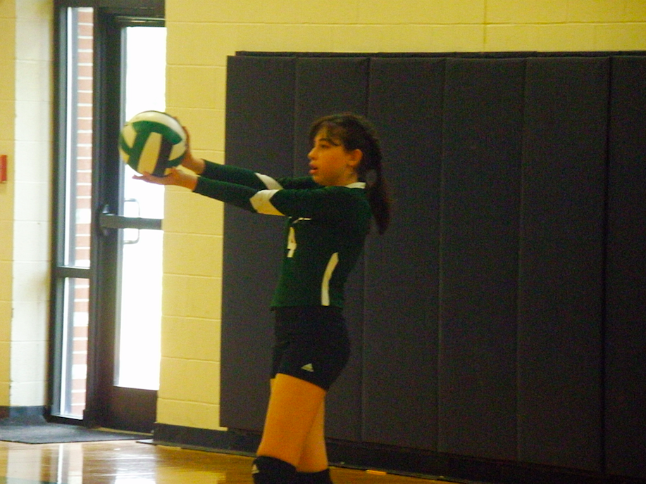 Lady Irish Volleyball teams defeat Lumberton