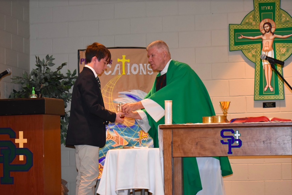 St. Patrick Celebrates Mass with Father Greg on September 6