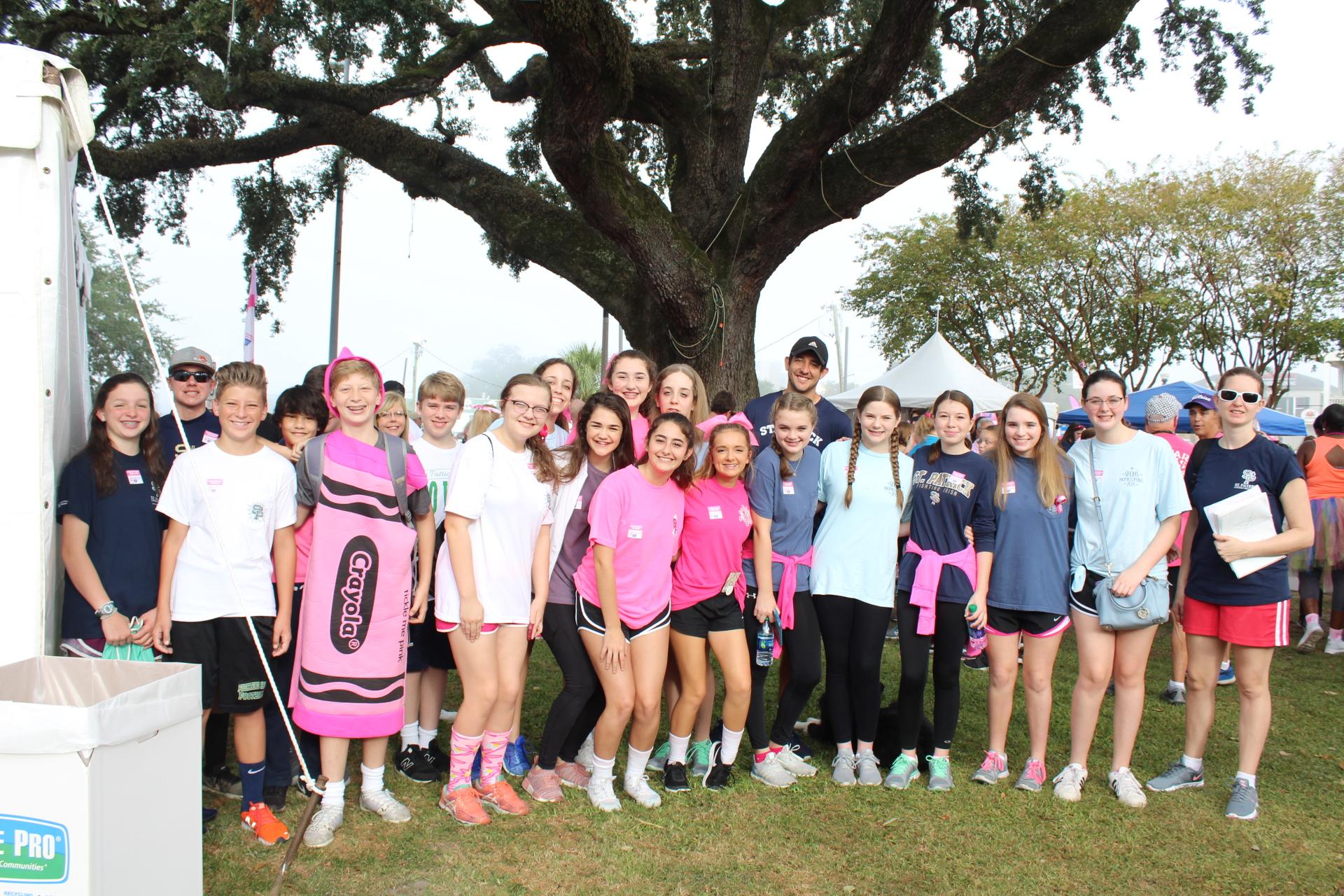 NJHS makes strides against breast cancer
