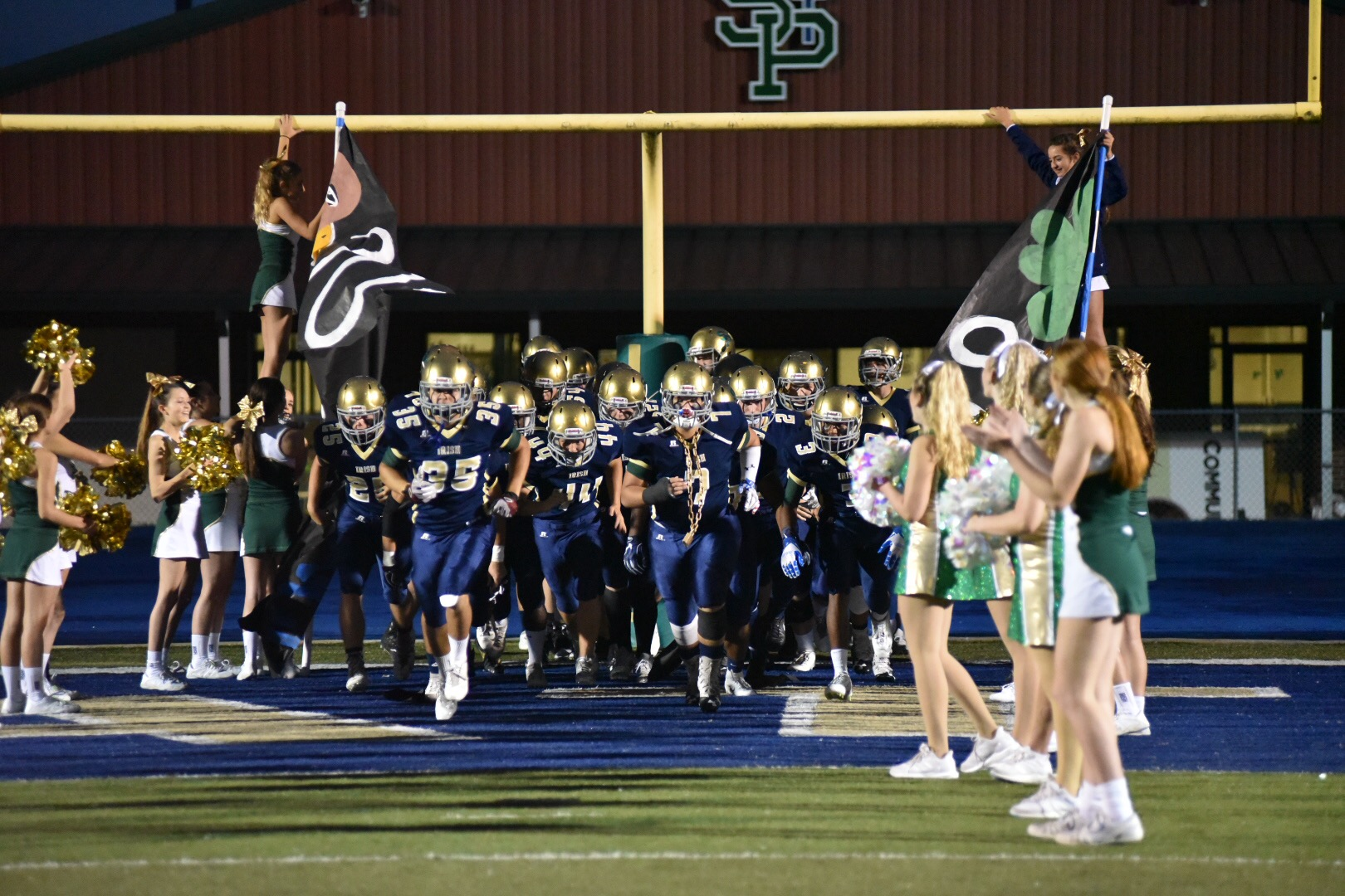St. Patrick vs. North Forrest Varsity Football game