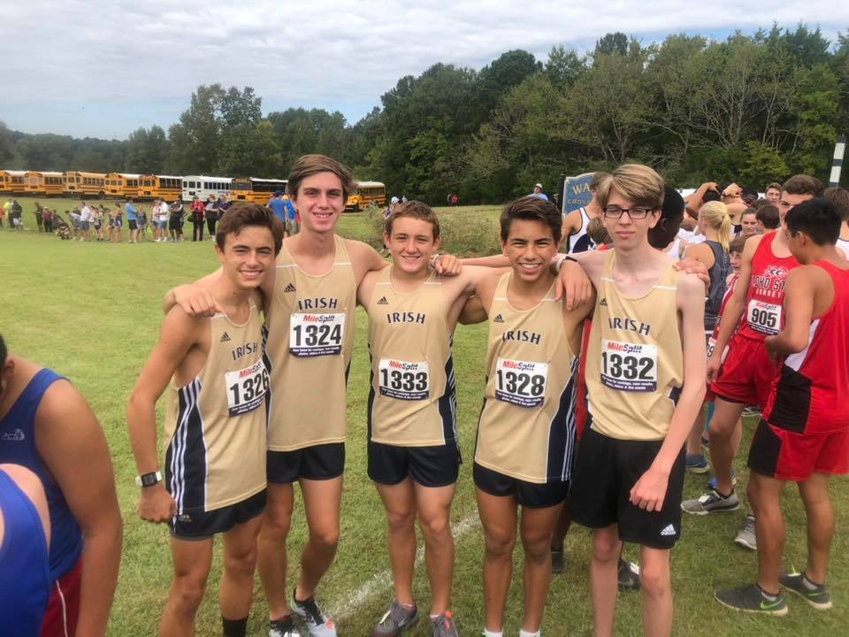Fighting Irish Cross Country Team competes at MC Watson Ford Invitational in Clinton