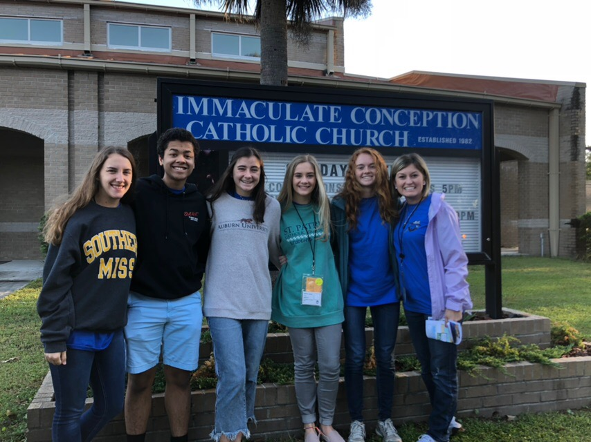 SPCHS Student Council members attend Southern Association of Student Council (SASC) Conference
