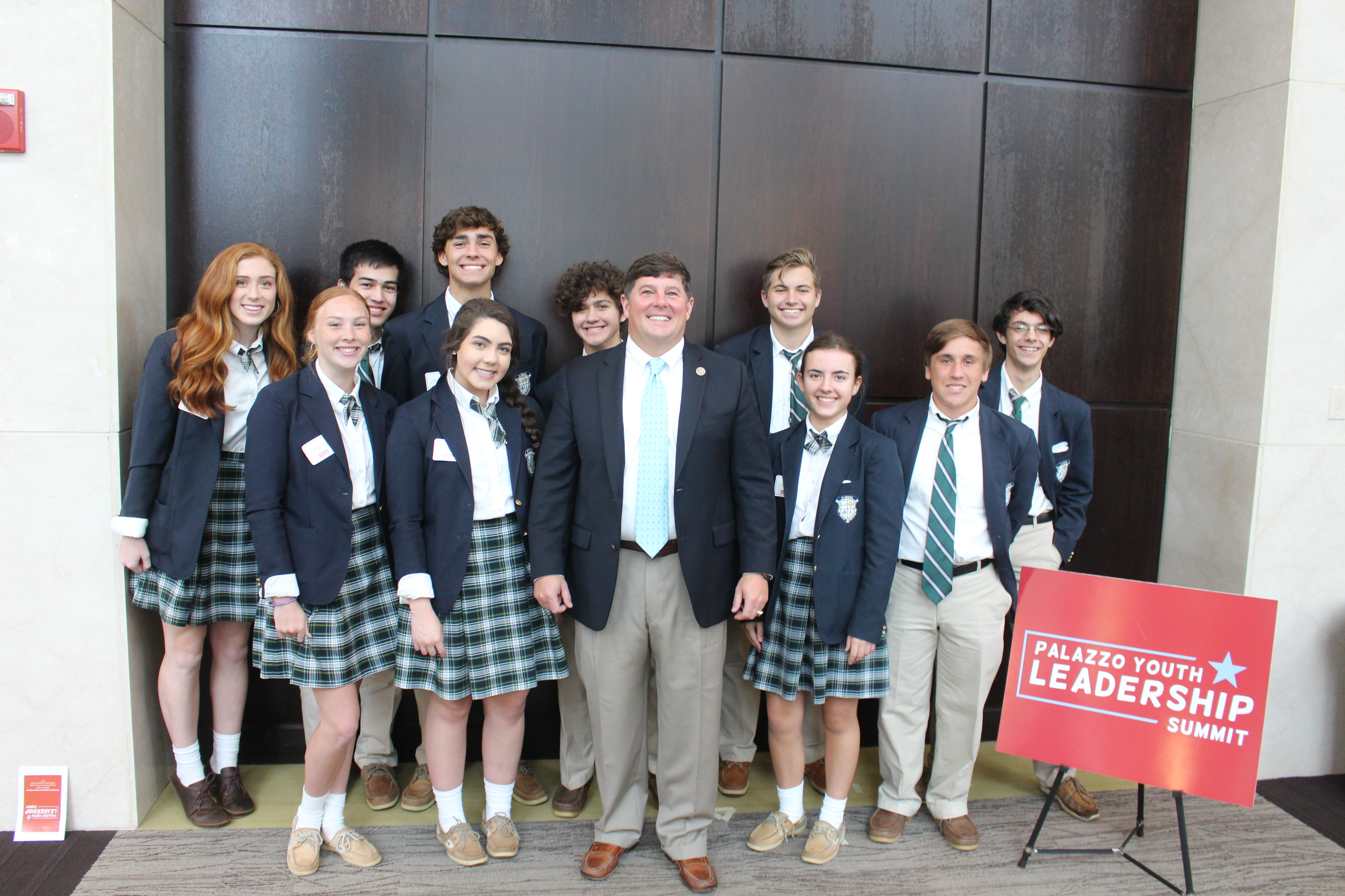 St. Patrick students attend Palazzo Youth Leadership Summit