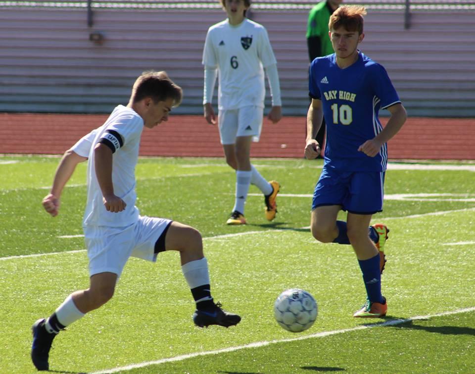 St. Patrick boys soccer teams shut out Bay High