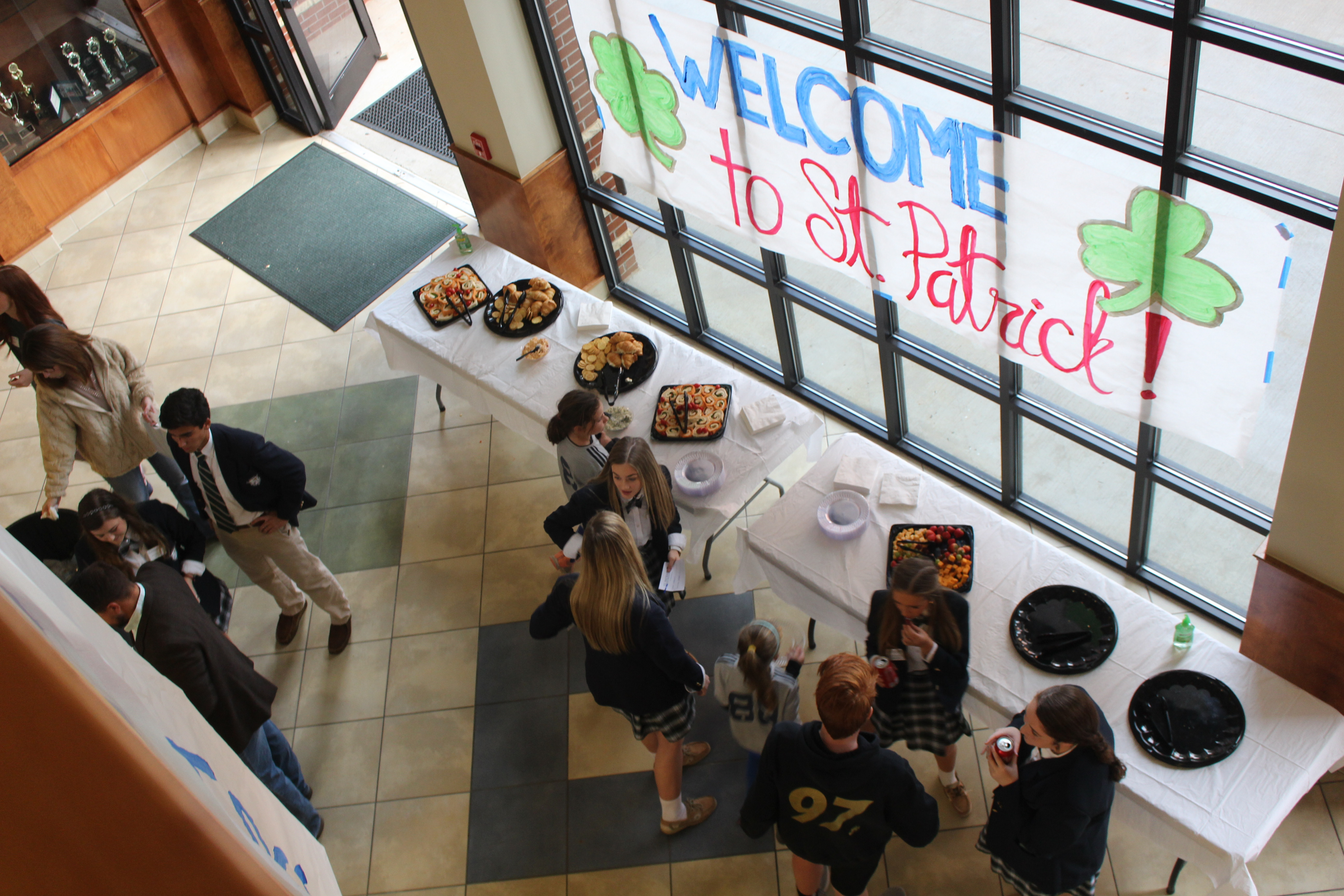 St. Patrick welcomes hundreds to campus during Fall Open House 2018