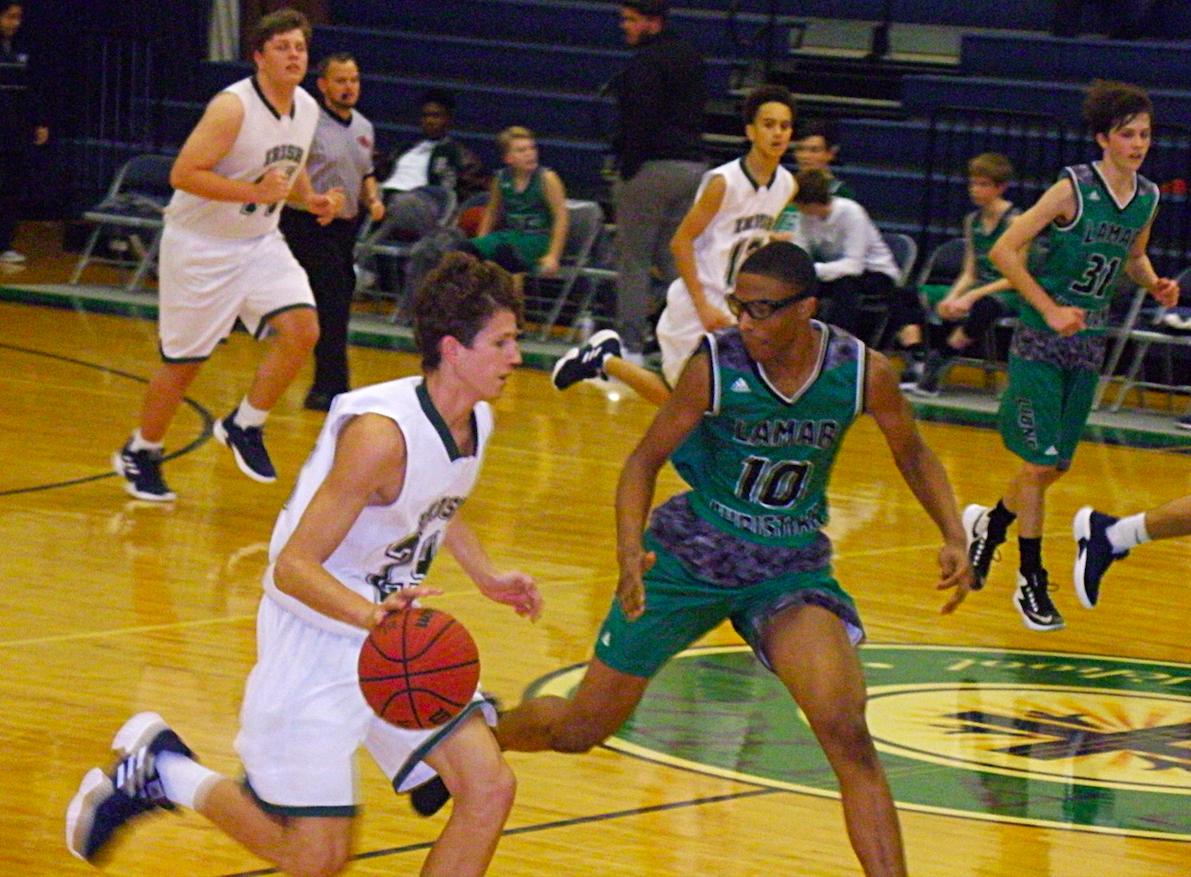 JV Boys and Varsity Basketball teams face Lamar Christian