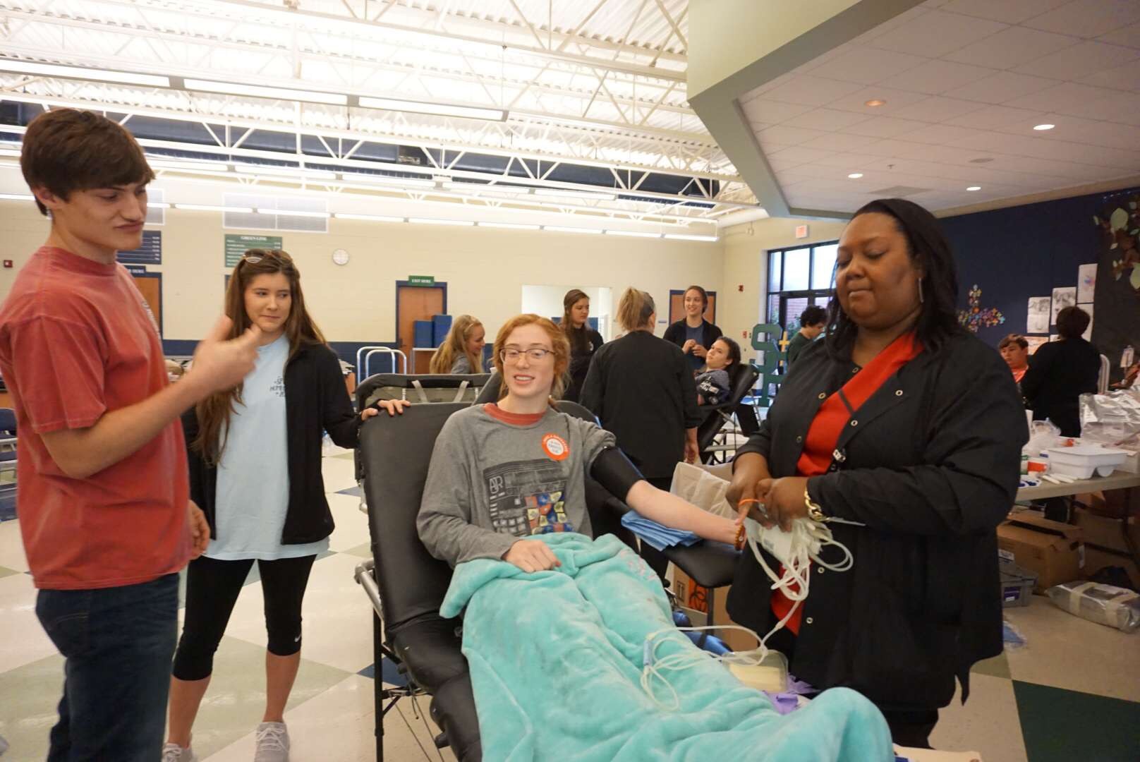 Science Honor Society hosts Blood Drive