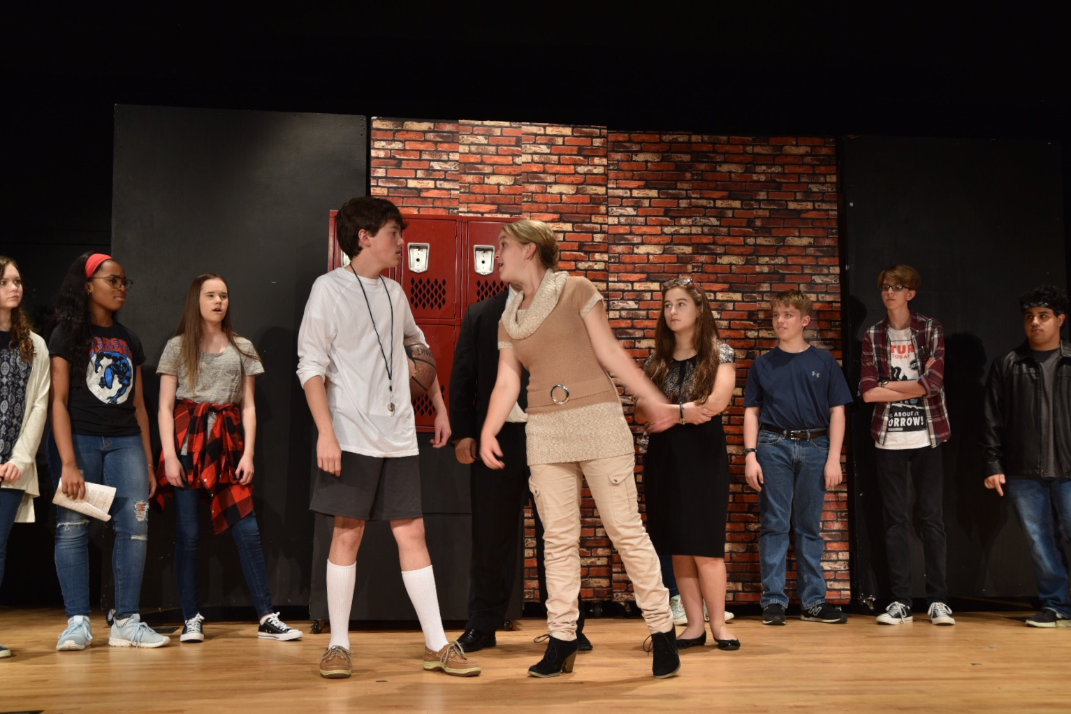 """SPCHS Drama Guild presents """"Much Ado About Middle School"""""""