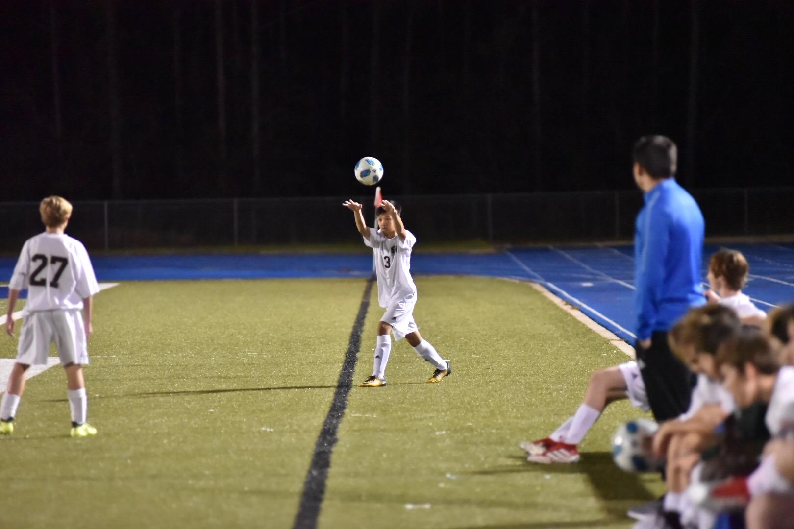 Fighting Irish junior high soccer teams face Gulfport