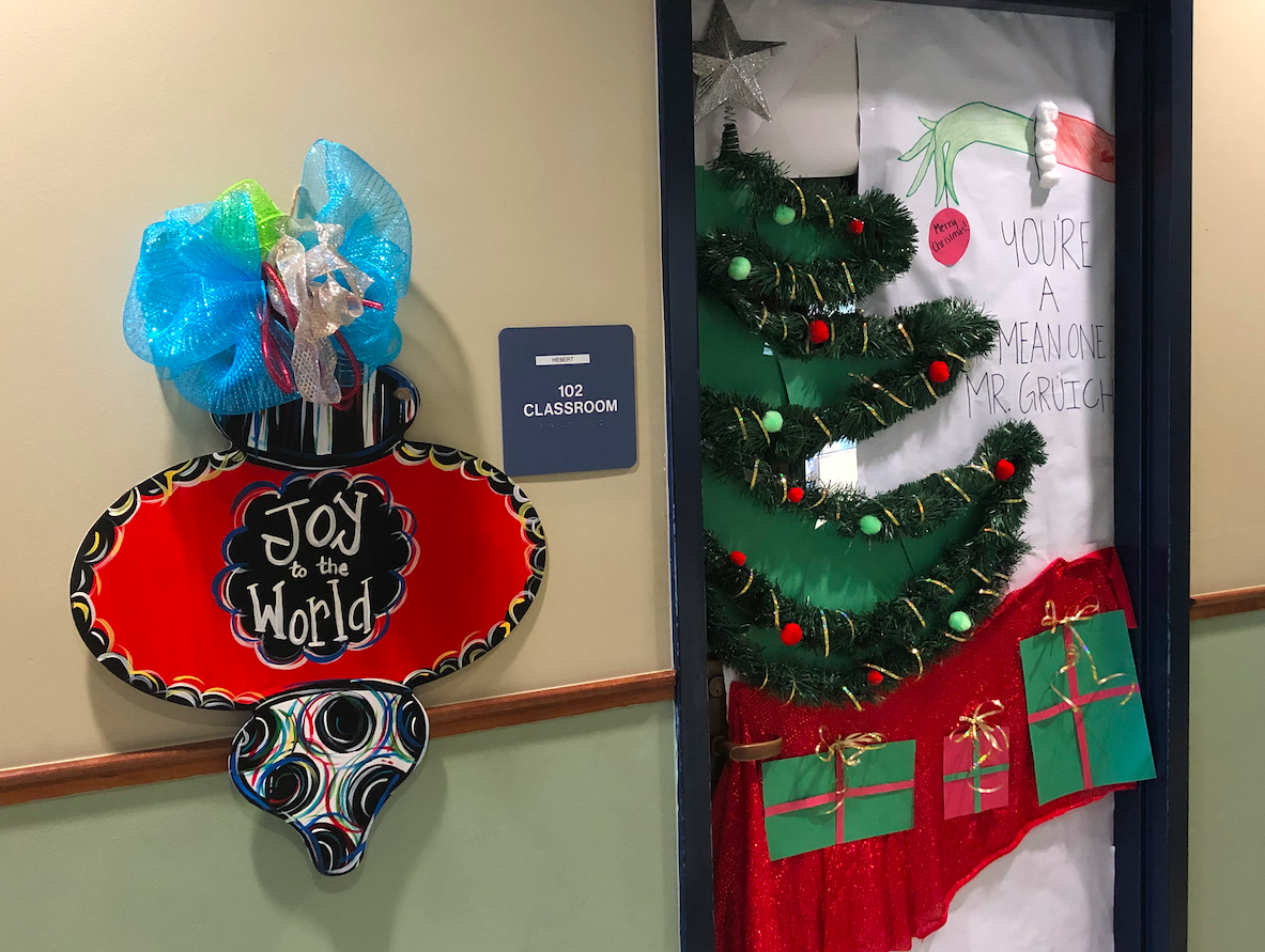 First period classes decorate doors in annual contest